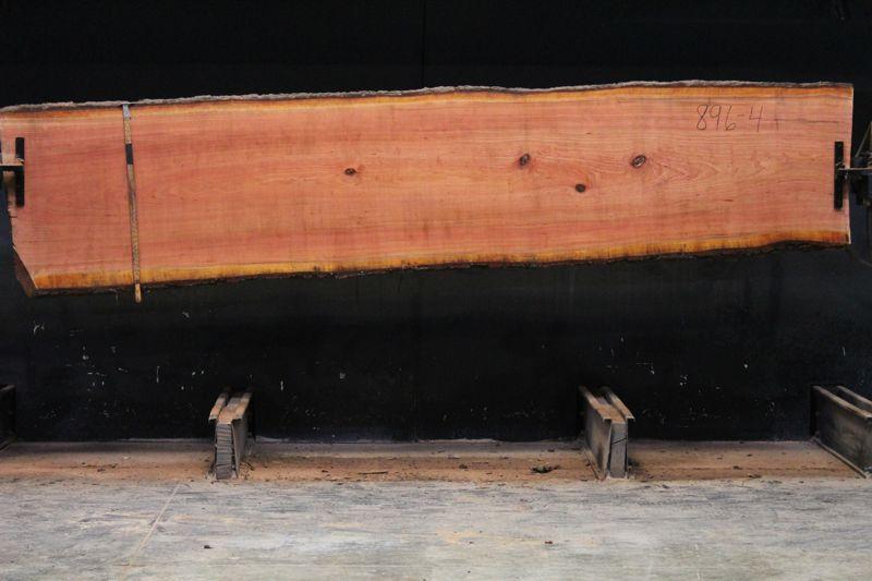 cherry slab 896-4 rough size 2.25″ x 27-32″ avg. 30″ x 12′