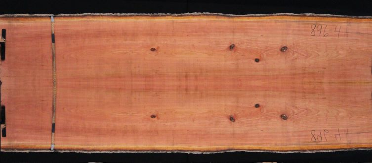 cherry slabs 896-3&4 simulation, approx. size 1.75″ x 50″ x 12′ Both Rough Slabs $1850