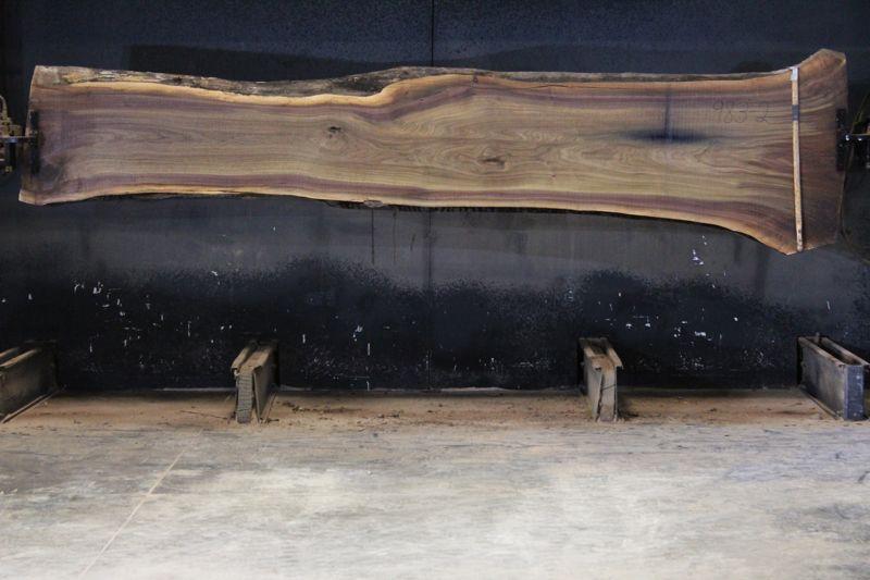 walnut slab 983-2 rough size 2.5″ x 19-38″ avg. 23″ x 13′