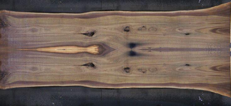 walnut slabs 983-2&3 simulation, approx. size 2″ x 48″ x 13′ Both Rough Slabs $2400