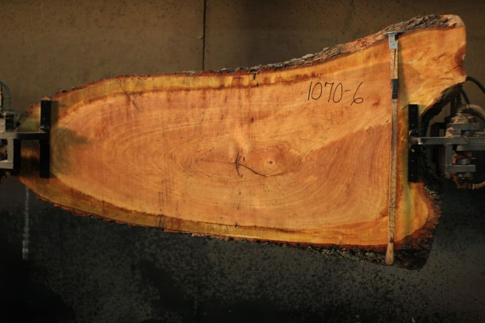 Cherry Round 1070-6: rough size 2″ x Ave 31″  Wide x 5'3″ Long $550